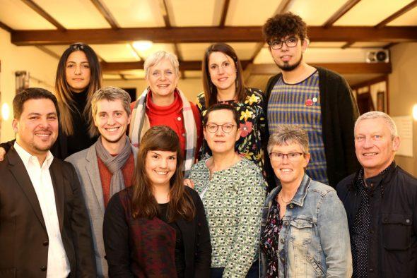 Die Ecolo-Kandidaten bei der Regionalwahl (Bild: Ecolo)