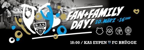 Fan and Family Day bei der AS Eupen