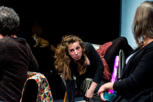 """Agora inszeniert neues Stück: """"Hannah Arendt auf der Bühne"""" (Bild: Luca Hennen/Agora)"""