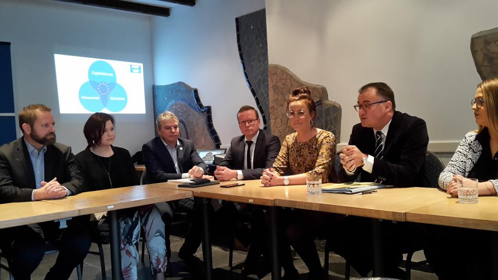 Europawahl: PFF tritt mit Yves Derwahl als Spitzenkandidat an (Bild: Michaela Brück/BRF)