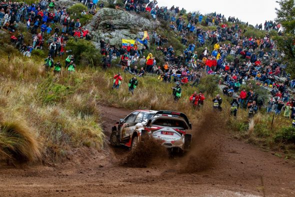 Ott Tänak/Martin Järveoja im Toyota Yaris WRC bei der Rallye Argentinien (Bild: Toyota Gazoo Racing)