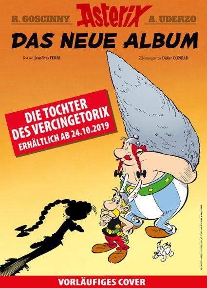 "Neues Asterix-Comic: ""Die Tochter des Vercingetorix"" (Cover: Egmont Ehapa Media)"