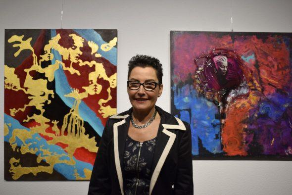 Künstlerin Mara Lames (Bild: Raffaela Schaus/BRF)
