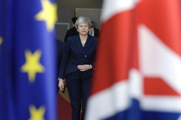 Theresa May (Bild: Aris Oikonomou/AFP)