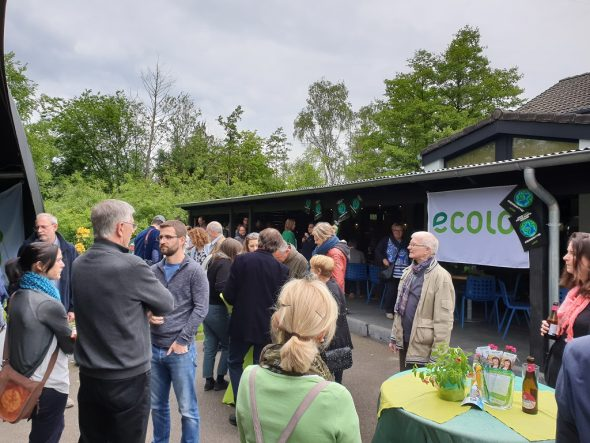 Ecolo-Parteizentrale im Camping Hertogenwald