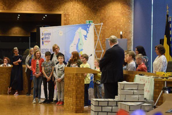Europa Kreativ: Projekte von Kindern und Jugendlichen in Eupen ausgezeichnet (Bild: Raffaela Schaus/BRF)