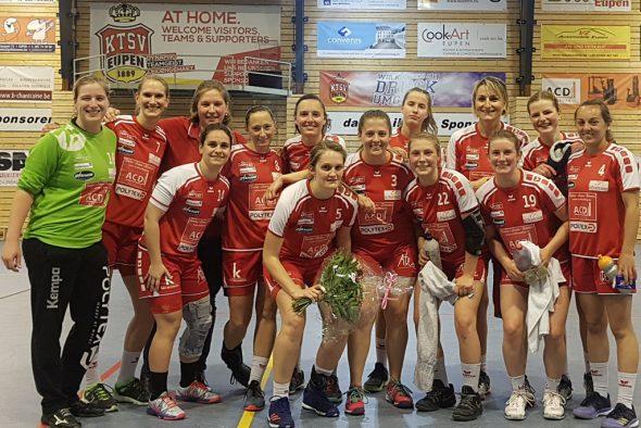 Frauen der KTSV Eupen (Bild: Christophe Ramjoie/BRF)