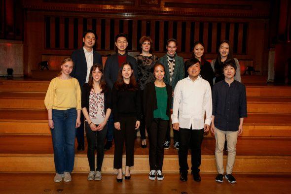 Die zwölf Finalisten des Königin-Elisabeth-Wettbewerbs