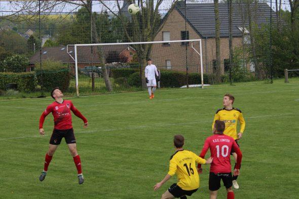 Aufstiegsrunde: Lontzen vs. Bütgenbach (Bild: Christoph Heeren/BRF)