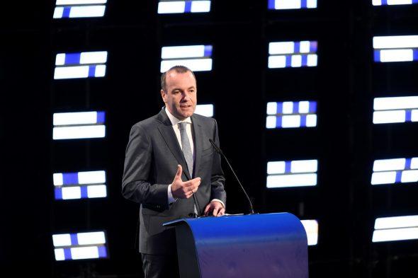 Der deutsche Christdemokrat Manfred Weber hat keine Mehrheit, um Kommissionspräsident zu werden (Bild: John Thys/AFP)