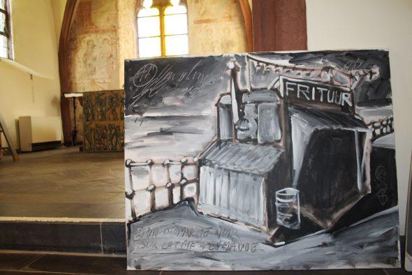 Eric Legrain stellt in der Kulturkapelle Krewinkel aus (Bild: Michaela Brück/BRF)
