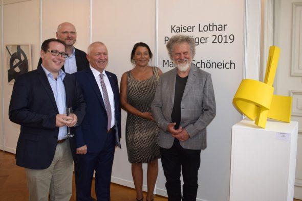 Martin Schöneich mit Kaiser-Lothar-Preis ausgezeichnet (Bild: Chantal Scheuren/BRF)