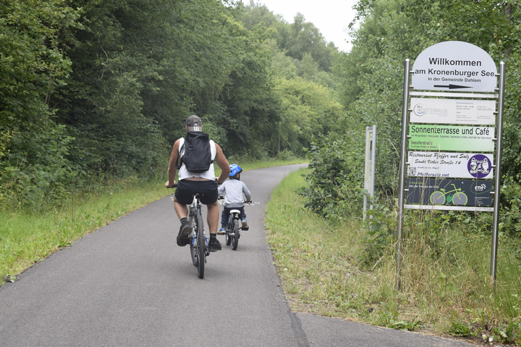Der Kyllradweg (Bild: Raffaela Schaus/BRF)
