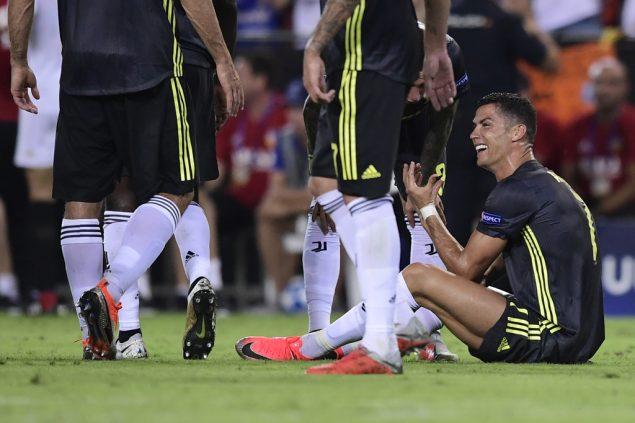 Cristiano Ronaldo Rote Karte