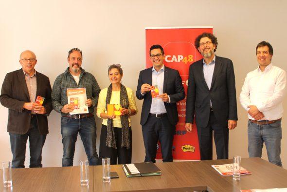 Neue Cap48-Kampagne vorgestellt (Bild: Renate Ducomble/BRF)