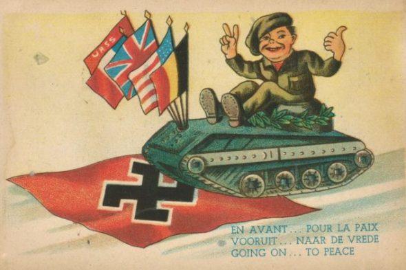 Propagandapostkarte aus dem Zweiten Weltkrieg (Quelle: Herbert Ruland)