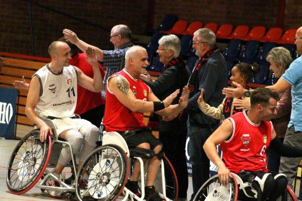 Trainingsspiel der Roller Bulls (Bild: Robin Emonts/BRF)
