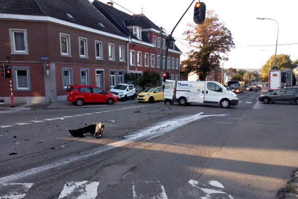 Unfall auf der Aachener Strasse in Kettenis (Bild: privat)
