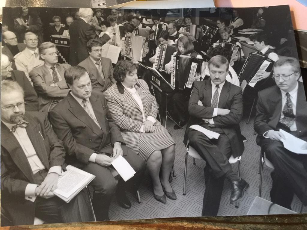 Festivalpremiere im November 1994, Bernd Gentges war Ehrengast (Bild: Josef Zierden)