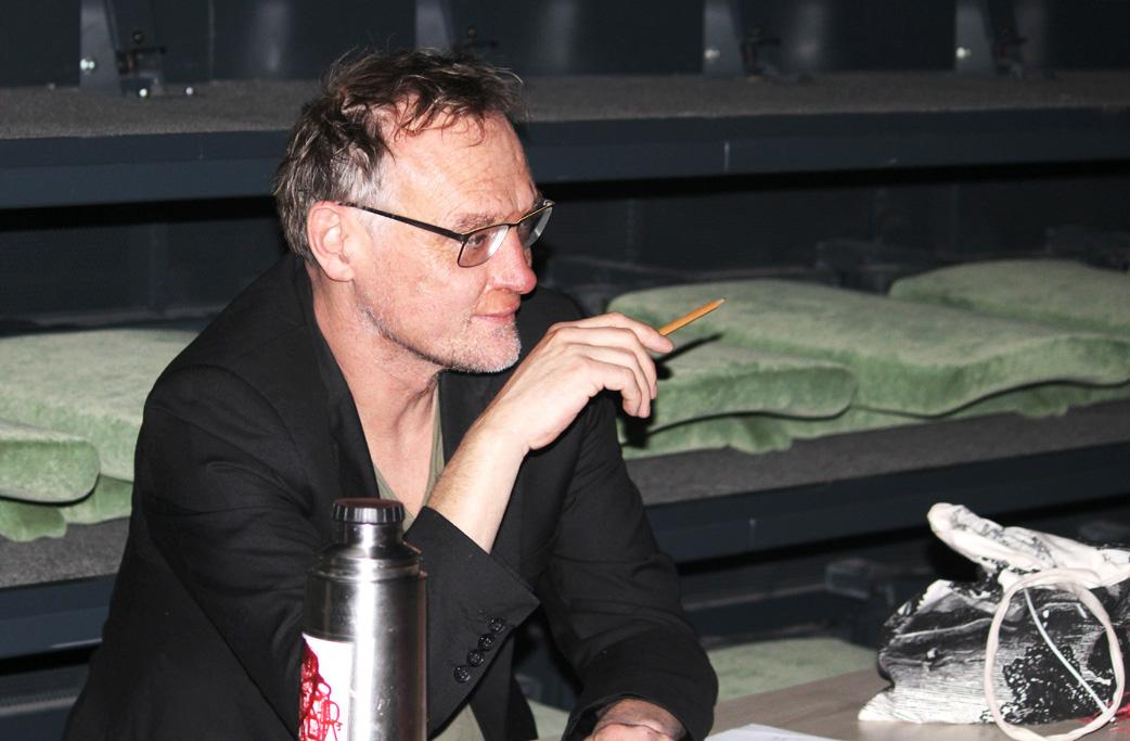 Regisseur Felix Ensslin (Bild: Chantal Delhez/BRF)
