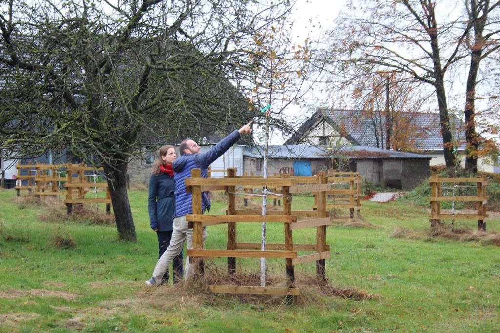 Marianka Lesser und Gerd Brüls von der AG Dorfentwicklung (Bild: Michaela Brück/BRF)
