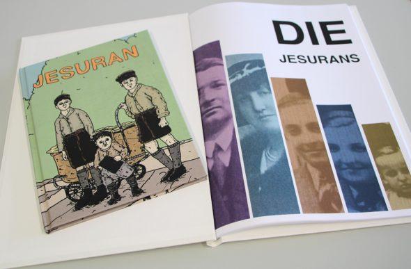 Neben dem Comic ist auch ein Buch zur Familie Jesuran erschienen (Bild: Melanie Ganser/BRF)
