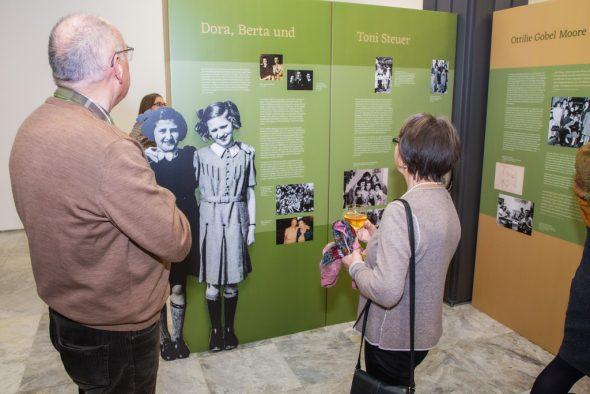 """""""Gerettet - auf Zeit"""": Ausstellung über Kindertransporte nach Belgien (Bild: Georg Krause)"""