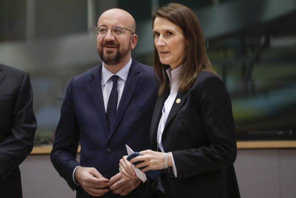 Michel und Wilmès (Bild: Thierry Roge/Belga)