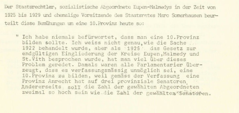 100 Jahre Ostbelgien - Episode 1