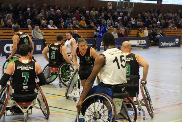 Roller Bulls vs. Zwickau im Sportzentrum St. Vith (Bild: Christophe Ramjoie/BRF)