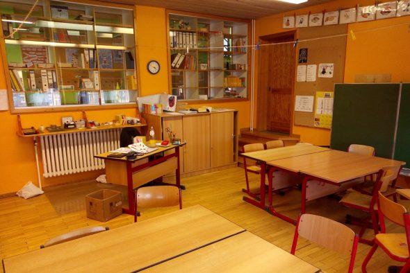 Die Schule in Wirtzfeld (Bild: Manuel Zimmermann/BRF)
