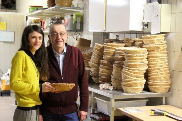 Nathalie und Vater Raymond Schaus (Bild: Michaela Brück/BRF)