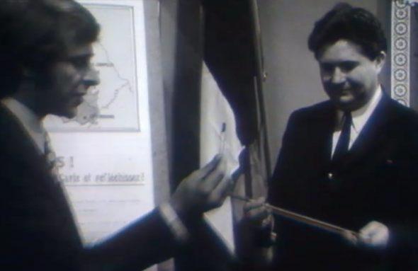 """Gebietsgewinn mit der Pinzette - Ausschnitt aus der RTBF-Sendung """"La plus grand Belgique"""" (1971)"""