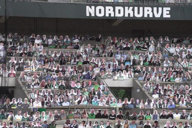 Borussia Mönchengladbach Pappfiguren