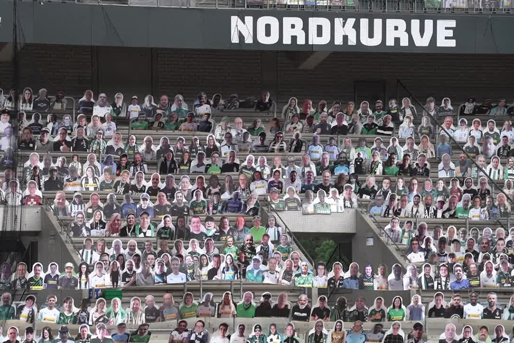 Borussia Mönchengladbach Pappkameraden