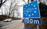 Belgisch-deutsche Grenze in Kelmis (Bild: Bruno Fahy/Belga)