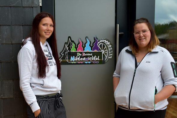 Nadine Hilgers und Lisa Adams (Bild: Chantal Scheuren/BRF)