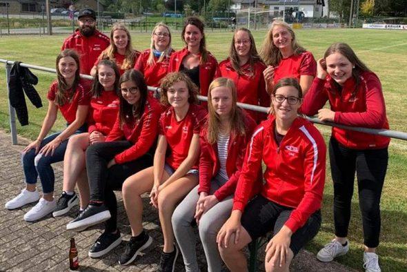 Frauenteam von Rapid Oudler (Bild: Christophe Ramjoie/BRF)