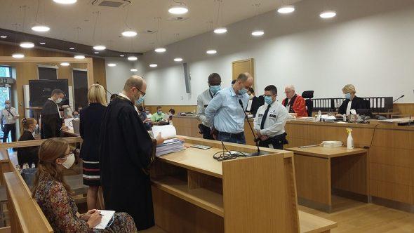Dritter Tag im Mordprozess: Der Angeklagte (Bild: Chantal Delhez/BRF)