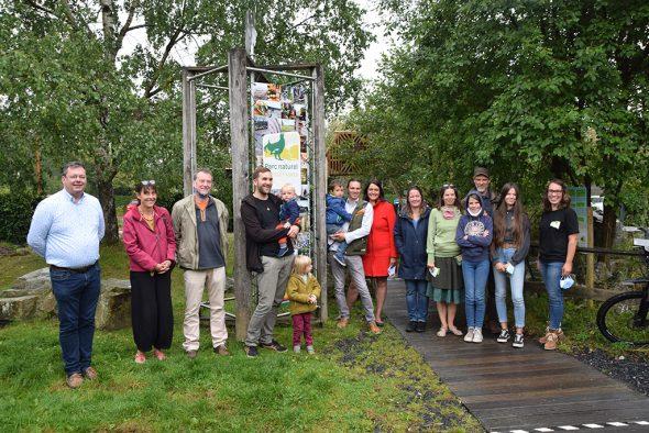 Die fünf Gewinner des Naturgarten-Wettbewerbs (Bild: Naturparkzentrum Botrange)