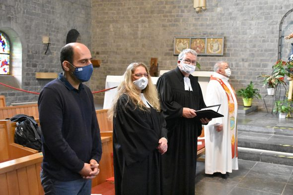 Ordination von Annette Beck in der katholischen Kirche St. Vith (Bild: Chantal Scheuren/BRF)