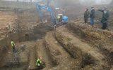 """Archäologische Ausgrabungen """"Zur Burg"""" in St. Vith (Bild: Raffaela Schaus/BRF)"""