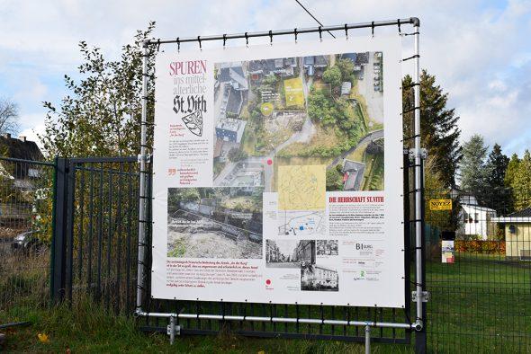 """Archäologische Ausgrabungen """"Zur Burg"""" in St. Vith (Bild: Chantal Scheuren/BRF)"""