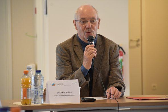 Willy Heuschen, Präsident von Kathleos (Bild: Chantal Scheuren/BRF)