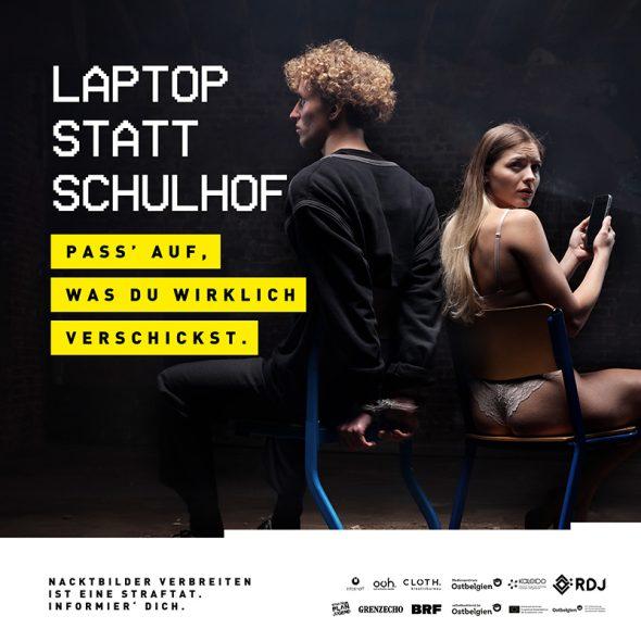 Sexting-Kampagne geht in die zweite Runde (Bild: RDJ)