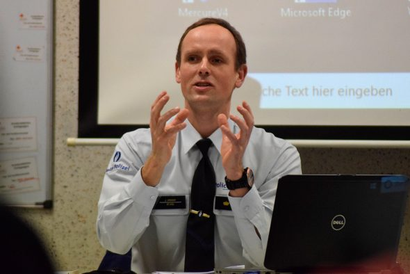 Der neue Chef der Polizeizone Eifel, Johannes Cremer  (Bild: Stephan Pesch/BRF)