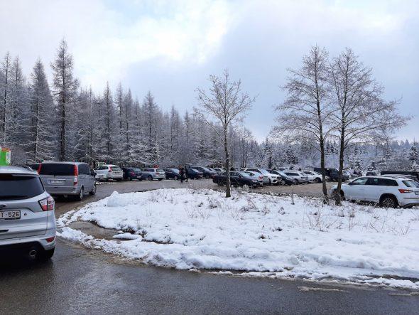 Zufahrtsstraßen zum Venn gesperrt: Parkplatz Drossart trotzdem voll (Bild: Andreas Lejeune/BRF)