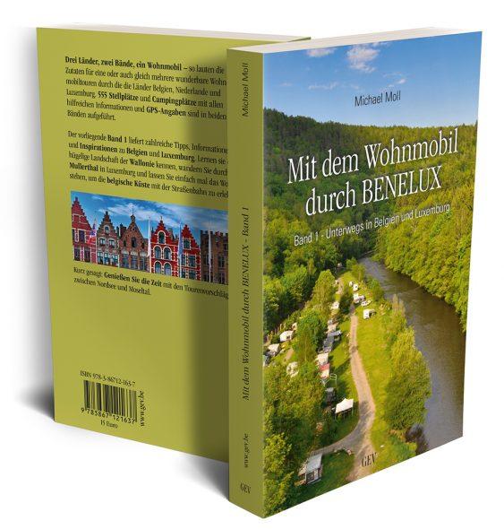 Michael Moll: Mit dem Wohnmobil durch BENELUX, Band 1 (GrenzEcho-Verlag)
