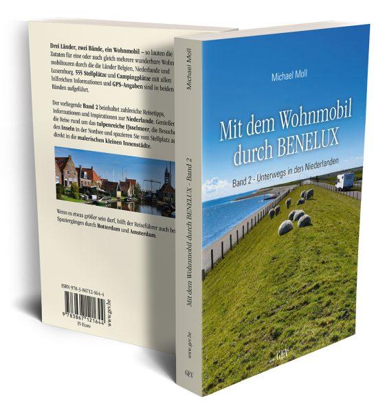 Michael Moll: Mit dem Wohnmobil durch BENELUX, Band 2 (GrenzEcho-Verlag)