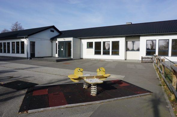 Ehemaliger Kindergarten in Amel (Bild: Stephan Pesch/BRF)